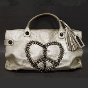 1 DAY FLASH SALE!! Betsey Johnson Leather bag